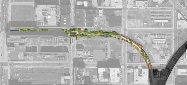 reading viaduct park SITE PLAN